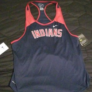 NWT Nike Dri Fit Clevelans Indians Tank Top Shirt
